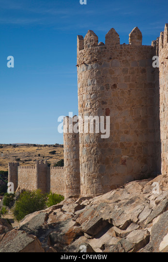 Spain Castilla Leon Region Avila Stock Photos & Spain Castilla Leon Regio...