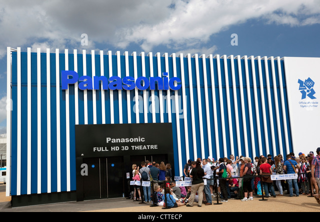 Panasonic HD 3D Cinema In Olympic Park London