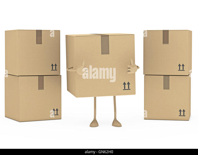 Cardboard Box With Arrows Stock Photos & Cardboard Box ...