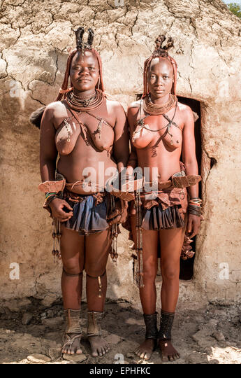 People Women Namibia Himba Women Stock Photos Amp People