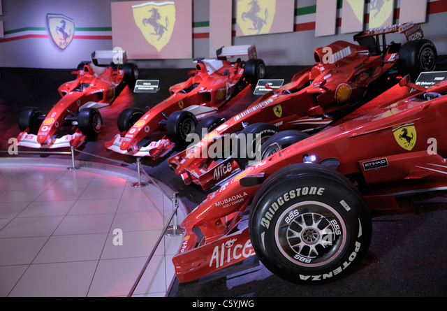 ferrari f1 ferrari museum stock photos ferrari f1. Black Bedroom Furniture Sets. Home Design Ideas