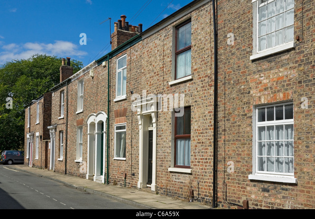 Yorkshire Terrace: Yorkshire Terrace Housing Stock Photos & Yorkshire Terrace