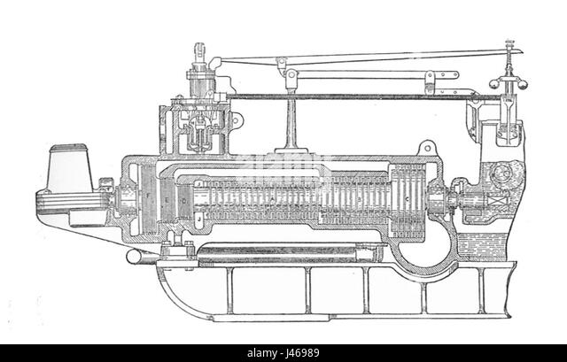 steam turbine drawing cut out stock images  u0026 pictures