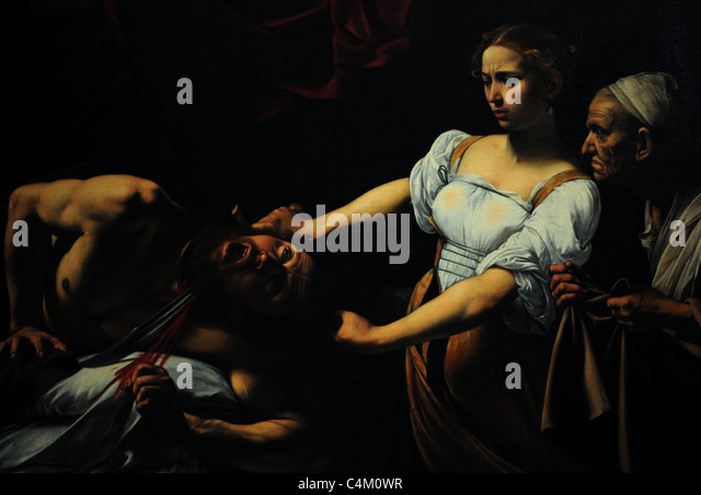 holofernes and caravaggio During the time when the city was under attack by the assyrian army headed by holofernes, judith is michelangelo merisi da caravaggio, aka caravaggio judith.