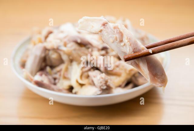 how to make shredded boiled chicken