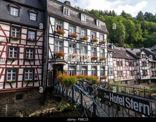 Half timber house stock photos half timber house stock for Hotels in eifel germany