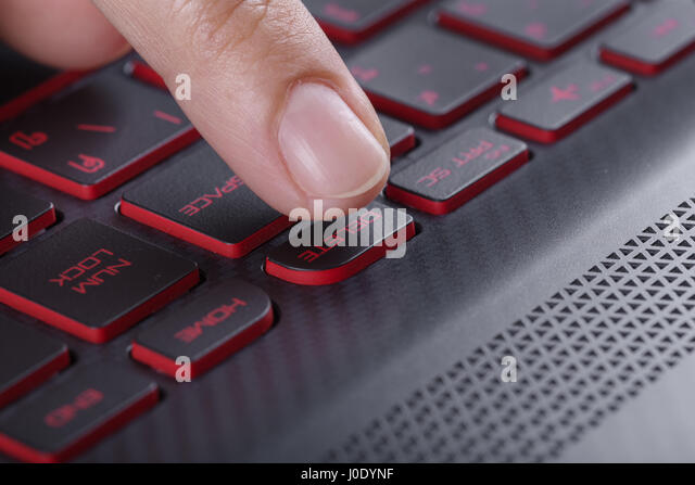 how to fix delete button on laptop