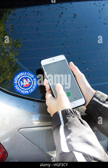 Roadside assistance stock photos roadside assistance for Aaa motor club phone number