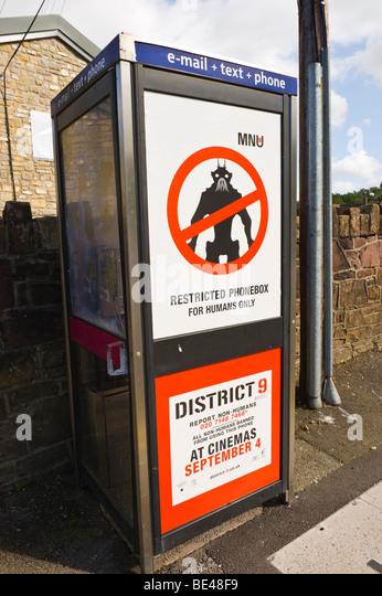 advertising hoarding british tele  stock photos