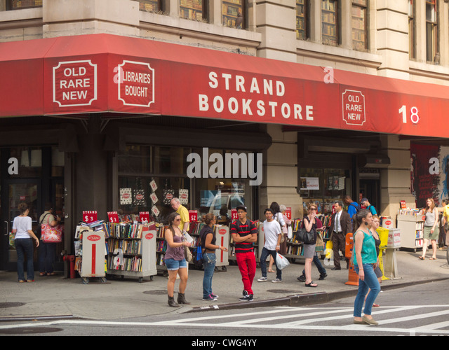 strand bookstore ny stock photos strand bookstore ny stock images alamy. Black Bedroom Furniture Sets. Home Design Ideas