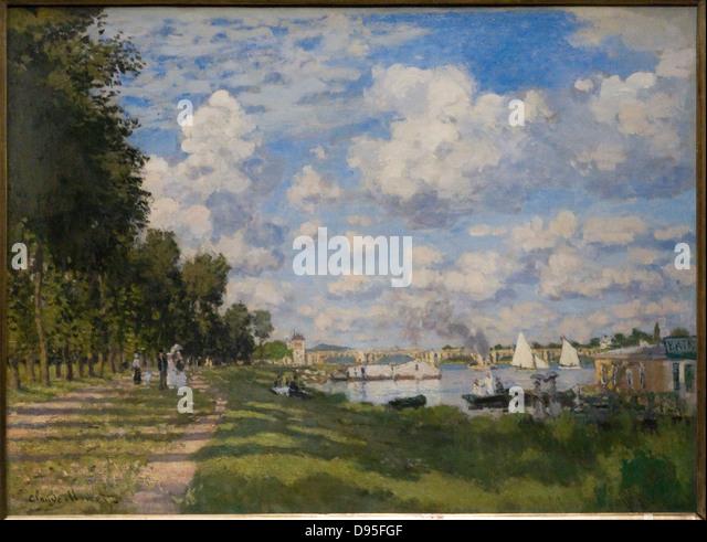 1872 by monet stock photos 1872 by monet stock images alamy - Piscine bassin exterieur paris argenteuil ...