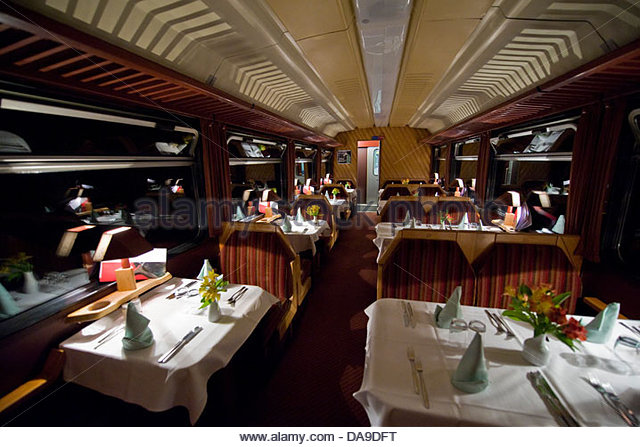 dining car stock photos dining car stock images alamy. Black Bedroom Furniture Sets. Home Design Ideas