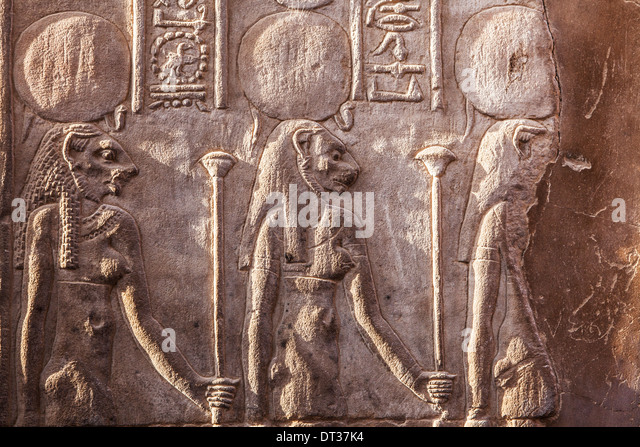 Egyptian gods stock photos images