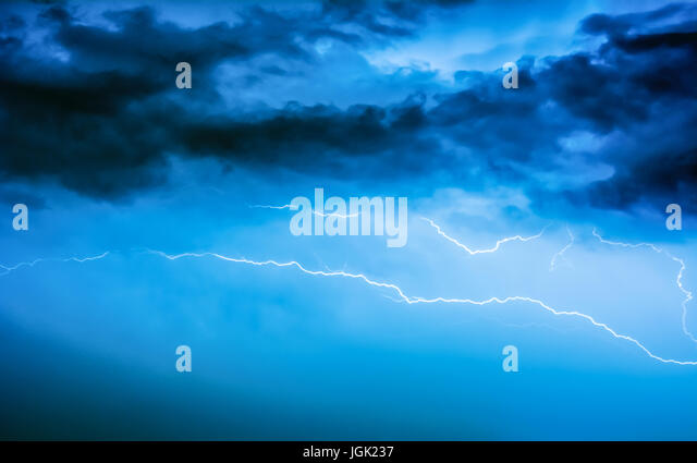 Live News Reportage Stock Photos Images Live News Reportage - A lightning storm synchronised with dramatic music