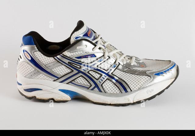 Asics GT 2120 running training shoe cutout - Stock Image