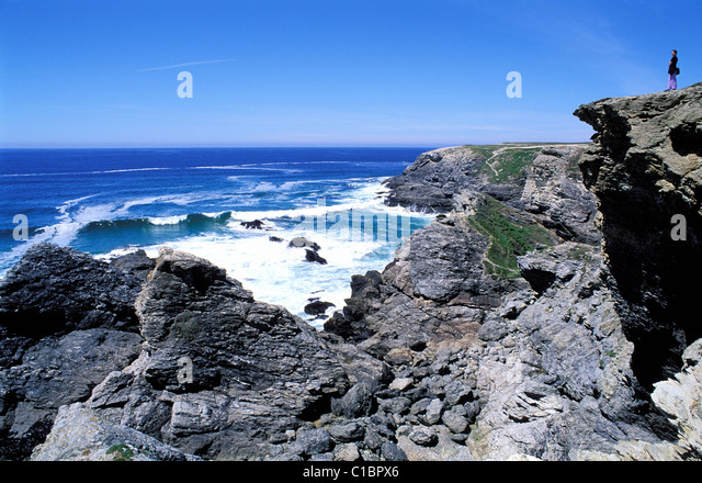 Donnant stock photos donnant stock images alamy for Port donnant belle ile