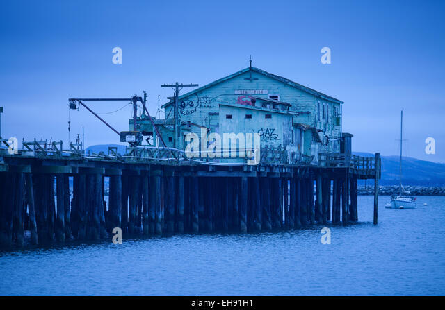 Commercial fishing stock photos commercial fishing stock for Half moon bay pier fishing