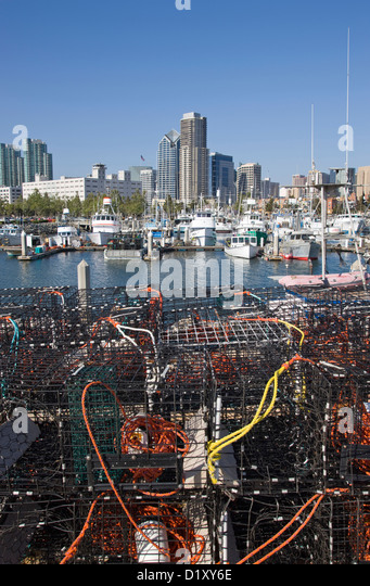 Port san diego stock photos port san diego stock images for Lobster fishing san diego