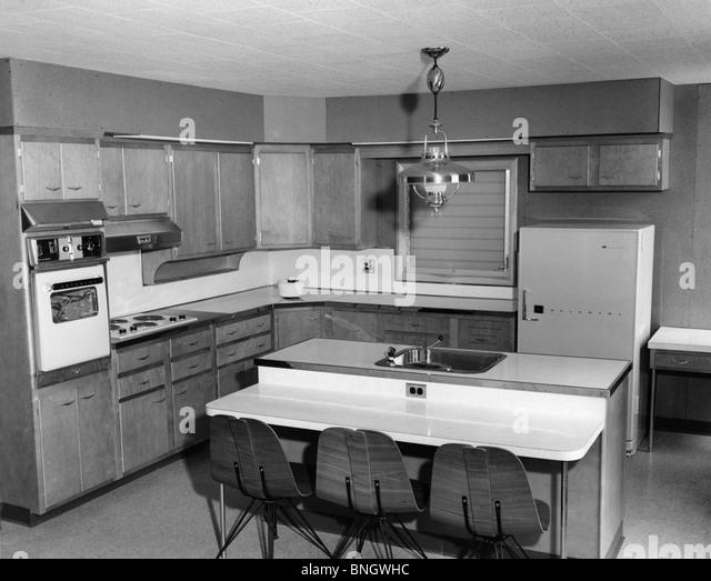 1950s Kitchen Stock Photos Amp 1950s Kitchen Stock Images