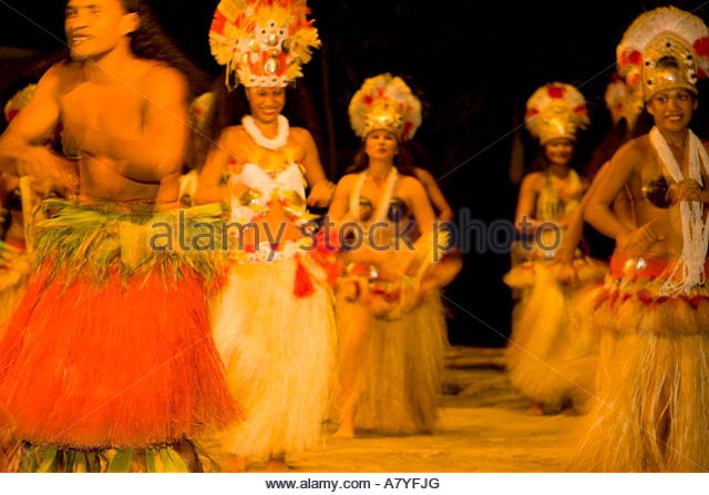 Woman Dancer Moorea St...
