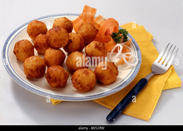 Fried Cheese Balls Stock Image