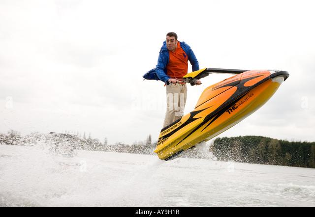 Anthony Burgess jet ski