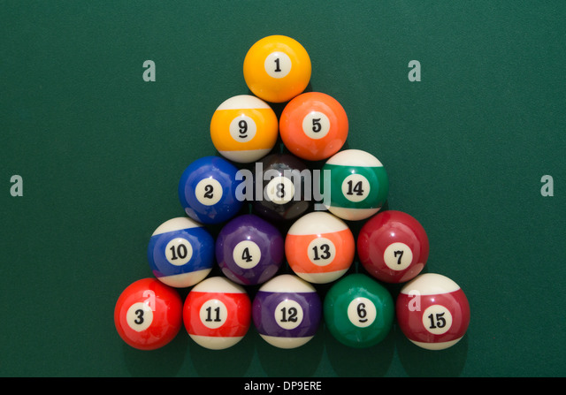 Snooker Triangle Stock Photos Amp Snooker Triangle Stock