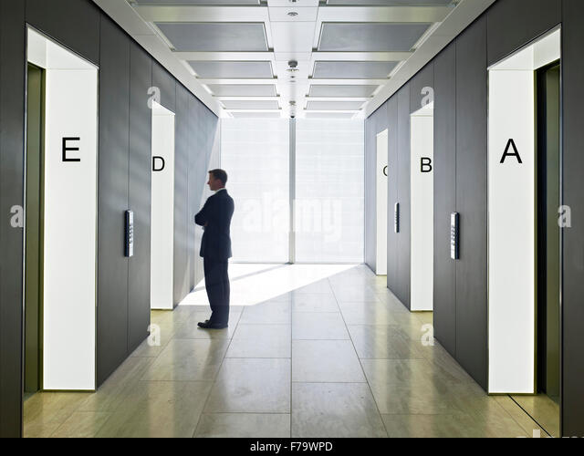 Foyer Office Uk : Lift foyer stock photos images alamy
