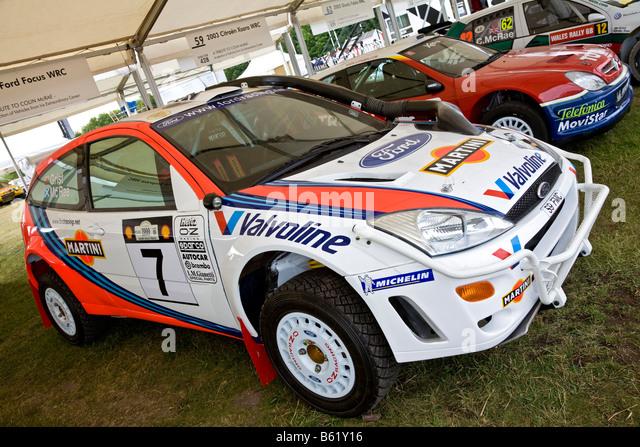 Ford Focus Wrc Rally Car Stock Photos  Ford Focus Wrc Rally Car