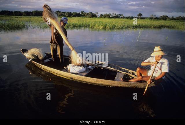 Fish amazon river fishing stock photos fish amazon river for Amazon fishing net