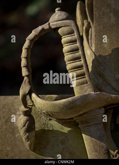 Cutlass sword stock photos cutlass sword stock images for Extra mural cemetery brighton