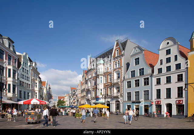 university square rostock stock photos university square rostock stock images alamy. Black Bedroom Furniture Sets. Home Design Ideas