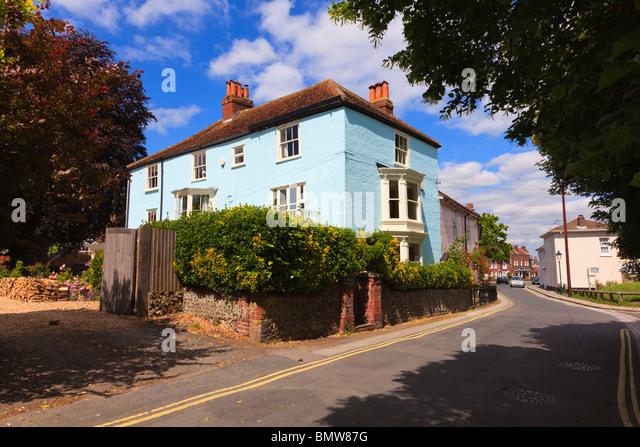 Wallington house stock photos