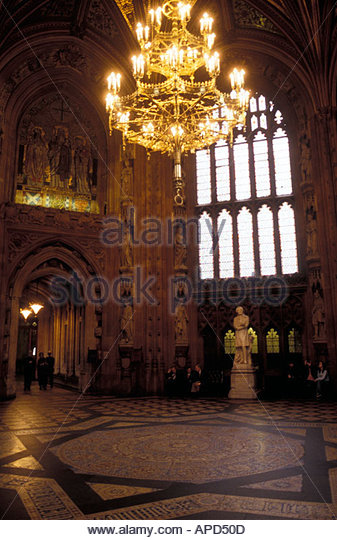 Interior Of Houses Of Parliament London UK   Stock Image Part 47