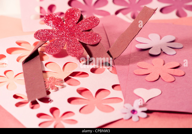 Card making arts stock photos card making arts stock images alamy arts and crafts materials used for creating cards invitations etc stock image stopboris Images