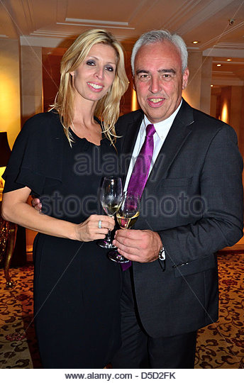 Hans Reiner Schroeder And Wife Katerina Kitchen Party The Opening Of Lorenz Adlon  Esszimmer At