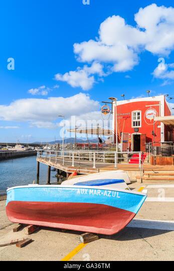 Restaurant in puerto del carmen stock photos restaurant in puerto del carmen stock images alamy - Port del carmen lanzarote ...