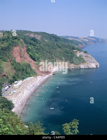 Babbacombe Bay Devon Stock Photos & Babbacombe Bay Devon ...