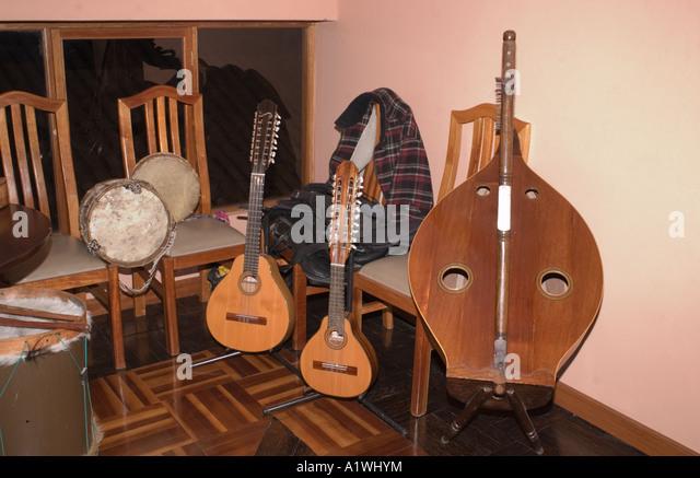 Traditional Musical Instruments Cuzco Peru Stock Photos ...