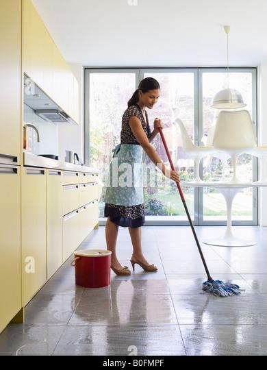 mop floor stock photos & mop floor stock images - alamy