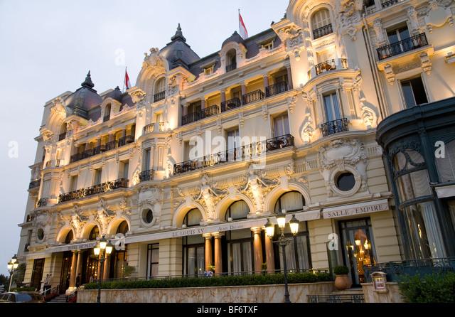 Hotel Paris Monaco Stock Photos Hotel Paris Monaco Stock