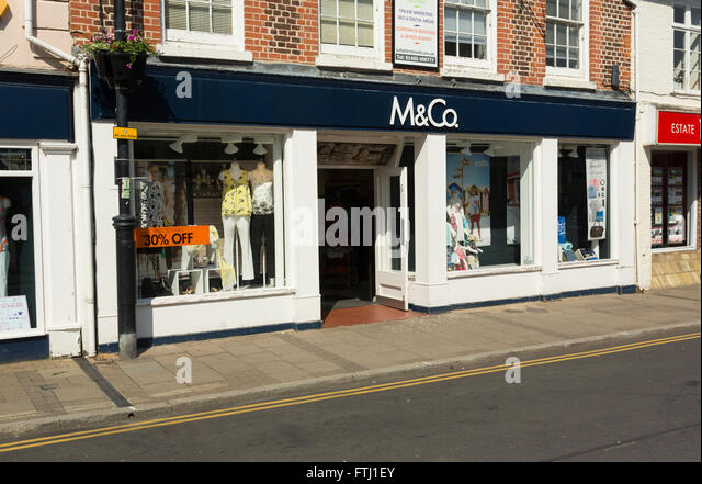 Find your nearest M&Co store locations in United Kingdom.