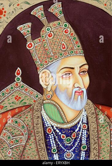 Mughal Emperor Painting Stock Photos & Mughal Emperor Painting Stock ...