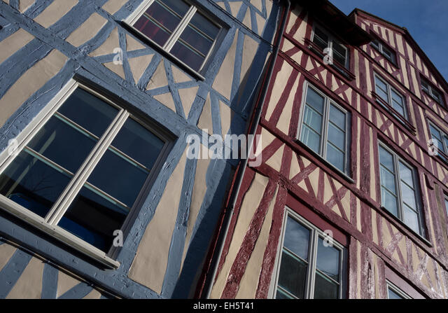 Timbering house stock photos timbering house stock - Saint maclou vannes ...