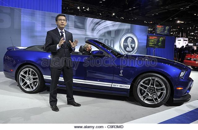Ford mustang 2012 stock photos ford mustang 2012 stock for Ford motor company executives