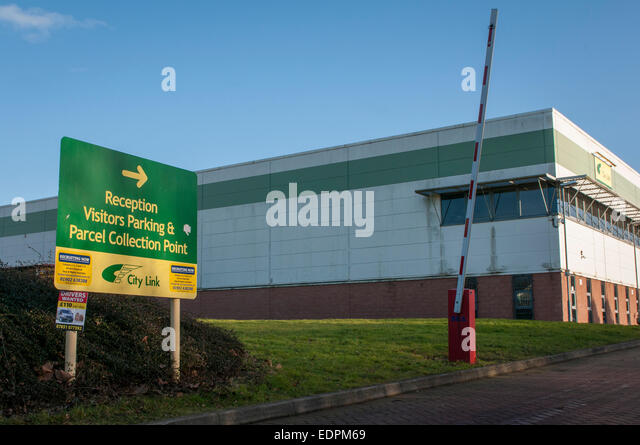 City link warehouse distribution and collection centre, Wednesbury, UK ...