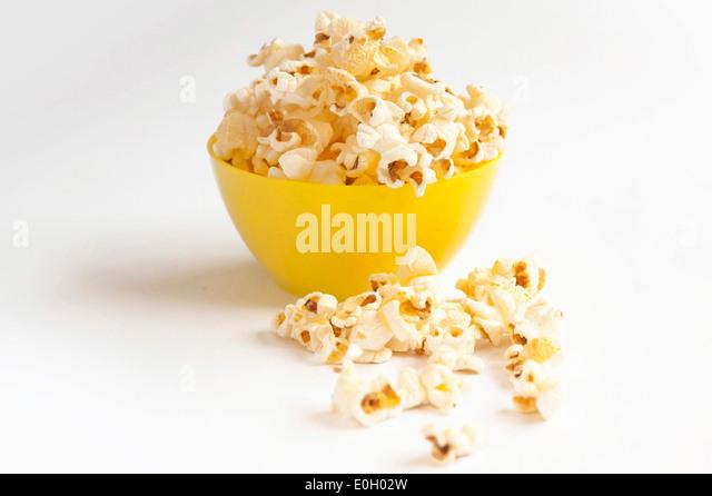 how to make yellow popcorn