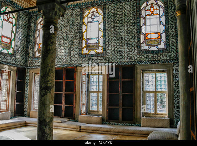 Topkapi Palace Interior Museum Stock Photos & Topkapi ...