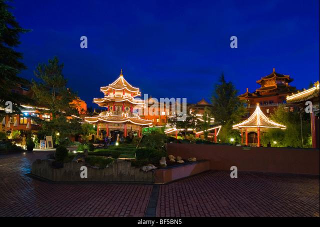 Rental Cars In Richmond Va Airport Theme park Chinatown in the amusement park Phantasialand Bruehl