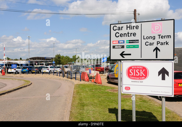 Enterprise Car Rental Office At Gatwick Airport